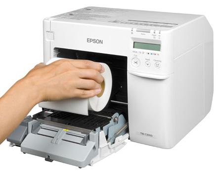 Epson Colorworks C3500 Color Label Printer Klinger