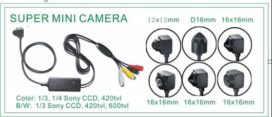 Miniature-CCD-Camera-Series