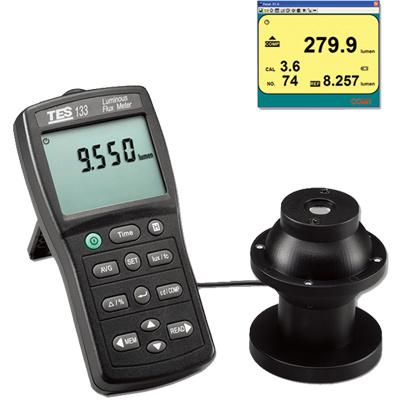 TES-133-Luminous-Flux-Meter