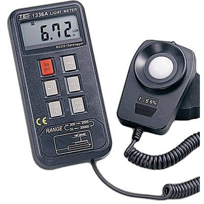 TES-1336A-Datalogging-Light-Meter