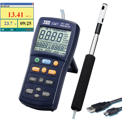 TES-1341-Hot-Wire-Anemometer