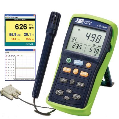 TES-1370-NDIR-CO2-Meter