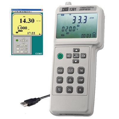 TES-1381K-pH_ORP-Meter