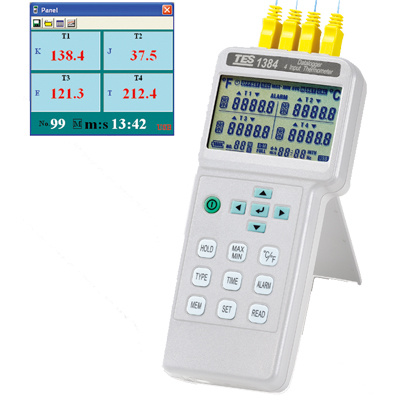TES-1384-4-Input-Thermometer_Datalogger