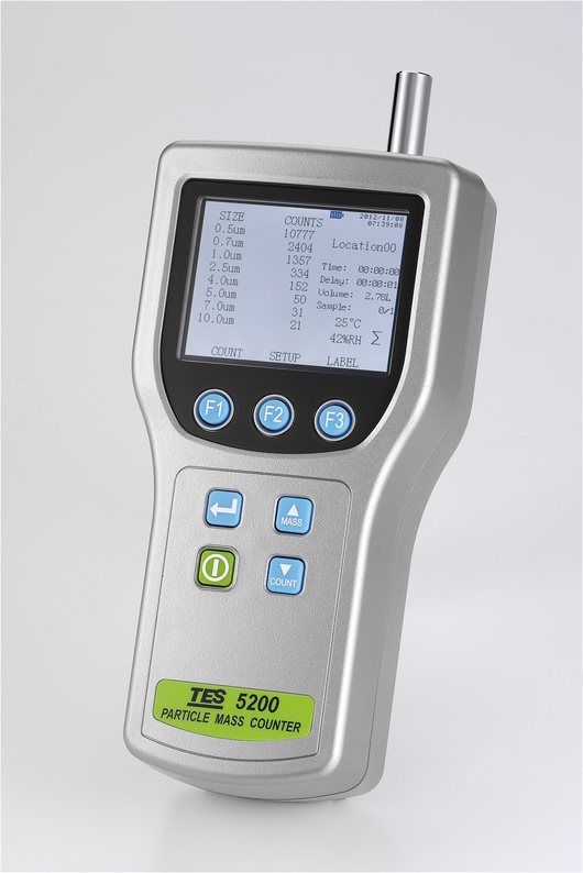 TES-5200-Particle-Mass-Counter